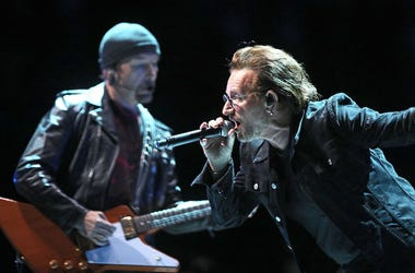 U2, Bono, The Edge, Concert, eXPERIENCE + iNNOCENCE Tour, O2 Arena, 2018