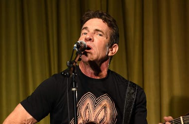 Dennis Quaid, Singing, Guitar, Dennis Quaid and the Sharks, Album Release Party, 2018