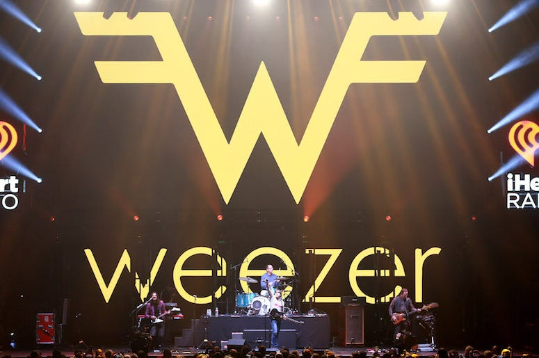 Weezer, Concert, Stage, Band, Los Angeles, 2019