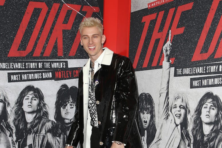 Machine Gun Kelly, Red Carpet, The Dirt, Premiere, Netflix, 2019
