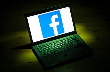 Computer, Laptop, Facebook, Logo