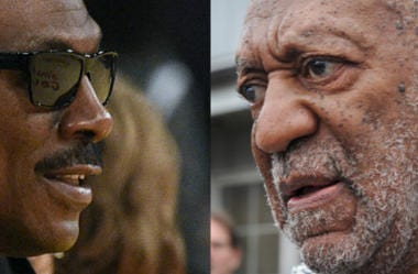 Photo Credit: Kelvin Kuo-USA TODAY Sports (Eddie Murphy) & Tom Gralish/Philadelphia Inquirer/TNS (Bill Cosby)