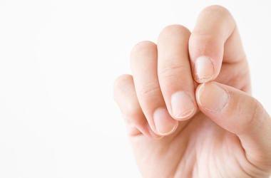 Male, Man, Hand, Fingernails, White Background