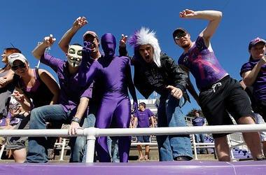 TCU Football Fans