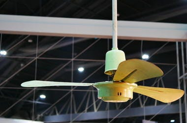 Ceiling Fan, Electric Fan, Restaurant