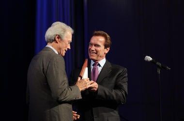Clint Eastwood and Arnold Schwarzenegger