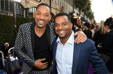 Will Smith and Alfonso Ribeiro