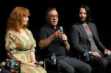 Christina Hendricks, Tim Allen & Keanu Reeves