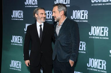 Joaquin Phoenix and Todd Philips