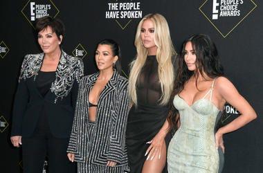 Kim Kardashian West, Kourtney Kardashian, Khloe Kardashian, and Kris Jenner