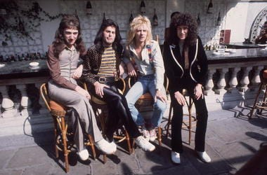 John Deacon, Freddie Mercury, Roger Taylor and Brian May