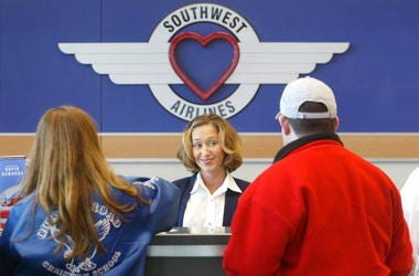 Southwest Airlines Flight Attendant
