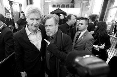 Mark Hamill & Harrison Ford