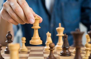 Man, Chess, Board, Queen