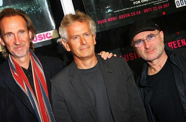 Phil Collins, Mike Rutherford, and Tony Banks