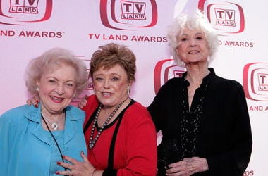 Betty White, Rue McClanahan and Bea Arthur