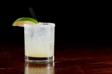 Margarita, On The Rocks, Fresh Lime, Dark Restaurant