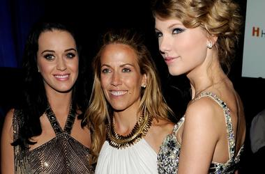 Katy Perry, Sheryl Crow and Taylor Swift
