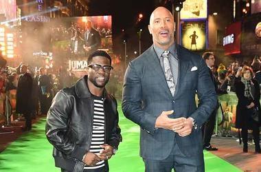 Kevin Hart & Dwayne The Rock Johnson