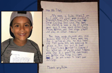 Cowboys Kid Letter