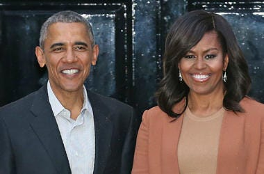 Obama,Michelle,Barack,FLOTUS,POTUS,Netflix,Production,Deal,On Camera,Producing,Content,Original,Movies,TV,Documentary,100.3 Jack FM