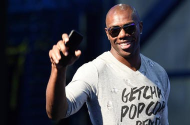 TO,Terrell Owens,Cowboy,Former,Dallas,Football,Hall of Fame,Attend,Sports,Local,100.3 Jack FM