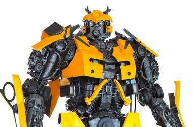 Transformer,Robot,Car,Japan,Brave Robotics,Astric,Sansei Technologies,Technology,Tech,Company,J-deite RIDE,Video,100.3 Jack FM