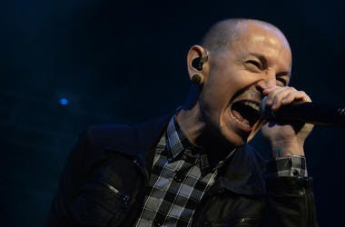 Chester Bennginton, Linkin Park, Concert, Singing, Screaming, Fort Lauderdale, Florida, 2013