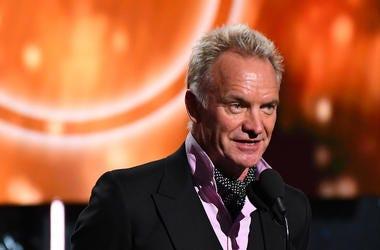 Sting, Talking, Suit