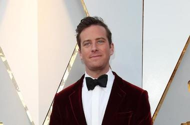 Armie Hammer, Red Carpet, 90th Academy Awards, Velvet Tux