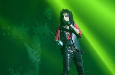 Alice Cooper, Singing, Concert, Green