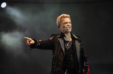 Billy Idol, Concert, Stage, Snarl
