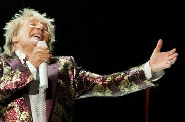 Rod Stewart, Concert, Singing, KFC Yum Center, 2018