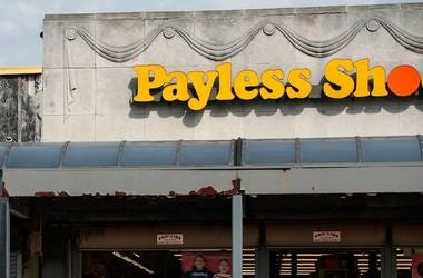 Payless Shoes, Storefront, Sign, Detroit, 2018