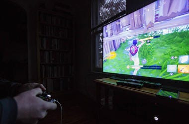 Fornite, Video Game, Hands, Controller, Xbox, 2018