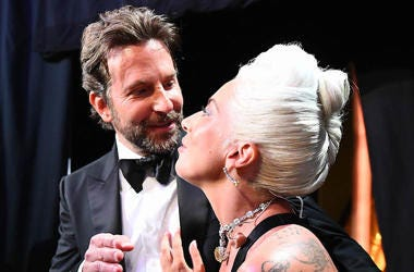 Bradley Cooper, Lady Gaga, 91st Academy Awards, Backstage, Talking, 2019