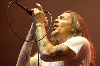 Brandon Boyd, Incubus, Singing, Concert, Long Hair, Innings Festival, 2019