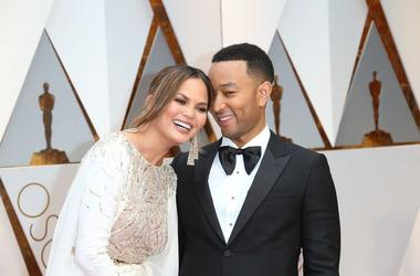 Chrissy Teigen and husband John Legend