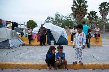 Children in Brownsville, TX