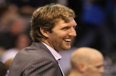 Retired NBA Dallas Maverick Player,Dirk Nowitzki