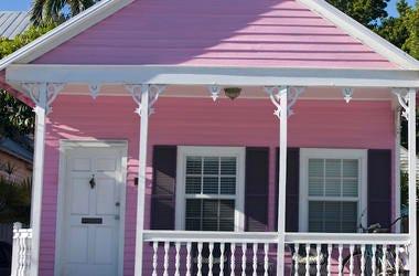 Pink House, Rental, Key West, Florida