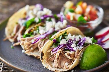 Carnitas, Tacos