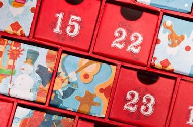 Advent Calendar, Choclate, Doors, Dates, Christmas