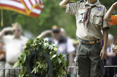 Boy Scout, Salute, Memorial Day