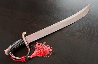 Saber, Sword, Table