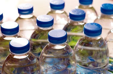 Water Bottles, Plastic, Close Up