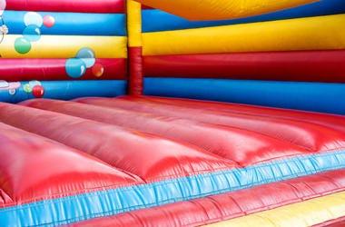 Colorful, Bouncy House, Castle