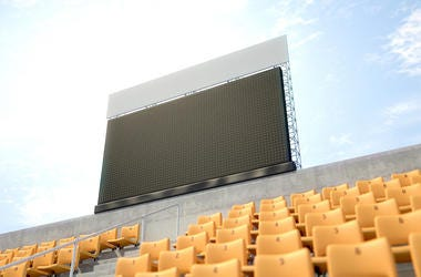 Stadium, Video Screen