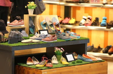 Shoes, Store, Display, Shopping Mall