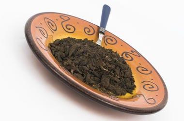 Plate, Dirt, Spoon